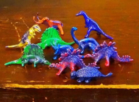 Ugh, my glitter dinosaur wrecks.